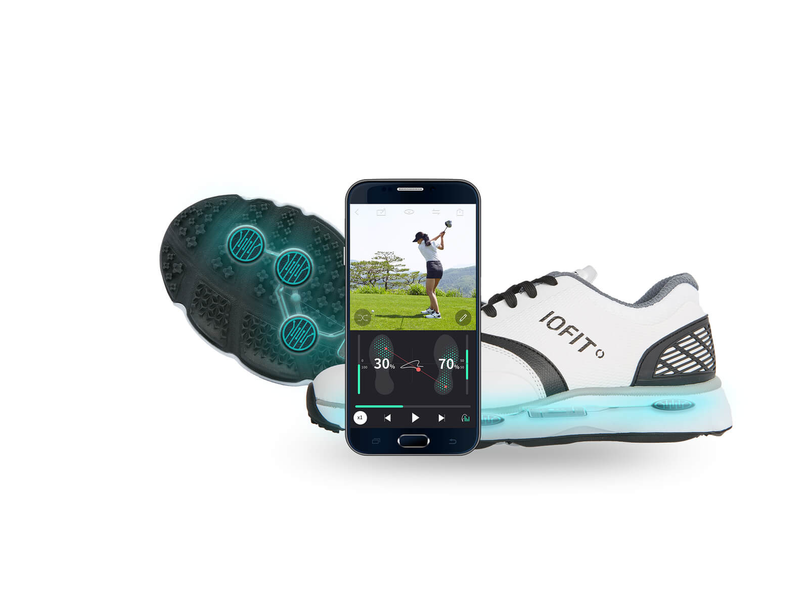 iofit smart shoes marketing