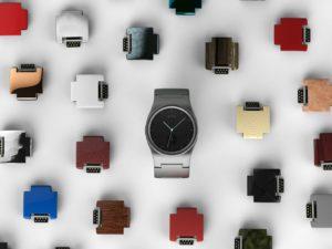 blocks modular smartwatch marketing